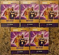 (5) Kobe Bryant LA Lakers 1996 Limited Edition Rookie Card. GOAT. Only 2k Made