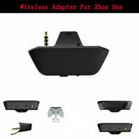 For Xbox One Microsoft Controller	Kit Headphone Audio Game Adapter Wireless