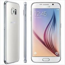 """Libre TELEFONO MOVIL 5.1"""" Samsung Galaxy S6 G920T 3G 4G LTE 32GB 16MP - Blanco"""