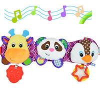 Sozzy Animal Panda Musical Soft Toys 38cm Stroller Hanging Infant For Baby Kids