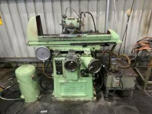 CHURCHILL SURFACE GRINDER ENGINEERING WORKSHOP CLEAN UP