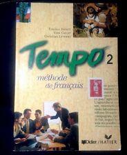 Tempo 2: Methode de Francais (French Edition) by Berard, Good Book