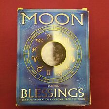 More details for moon blessings lori reid card book & candle kit