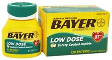 Bayer Low Dose Aspirin Safety Coated Tablets 81 mg 120 Count