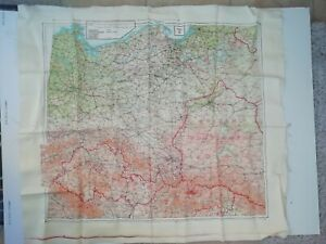 WW2 Escape Map 43E Germany Slovakia Poland Hungary Protectorate