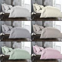 Bianca 100% Cotton Soft 200 TC Duvet Quilt Cover Six Colours