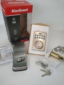 Kwikset 92640-001 Contemporary Electronic Keypad Single Cylinder Deadbolt