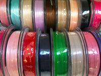 Berisfords UK Best Quality 3MM Double Satin Ribbon Choose Colour x 10 Metres