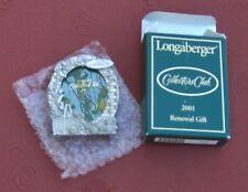 NIB Longaberger Collectors Club 2001 Renewal Gift Picture Frame