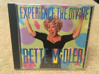 Bette Midler Experience the Divine Greatest Hits CD 93 Atlantic Playgraded