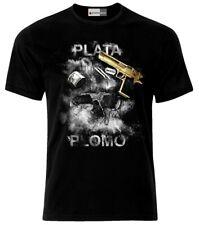 Plata O Plomo Colombia Cocaine T-Shirt
