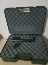 SR3000 Sports Radar Speed Gun + case, No power supply 9 volt
