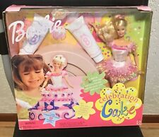 1999 Celebration Cake Barbie doll NRFB Happy Birthday