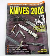 Knives 2002 22nd Annual Edition knife directory knifemaker bowie folding 02