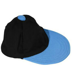 """Black and Blue Baseball Cap Fits Most 14"""" - 18"""" Build-a-bear and Make Your Own S"""