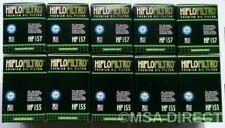 KTM EXC 400 450 520 525 1ª & 2 HIFLOFILTRO FILTROS DE ACEITE (HF155/HF157)