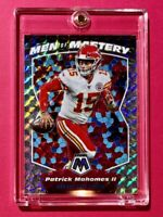 Patrick Mahomes SILVER PRIZM MOSAIC MEN OF MASTERY SPECIAL INSERT CARD - Mint!