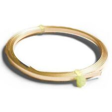 1 x Golden Plated Copper 0.75 x 3mm x 1m Flat Tape Craft Wire Coil X1280