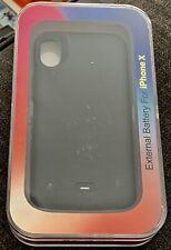 External Battery Case Iphone X Black