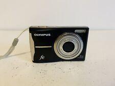Olympus FE FE-46 12 MP Megapixel Digital Camera Black AA Batteries Point n Shoot