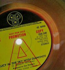 "Elton John - Lucy In The Sky With Diamond UK 1974 DJM Promotional Translucent 7"""