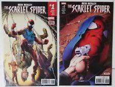 Ben Reilly The Scarlet Spider #1 & #2 Marvel Comics 2017 Spider-Man