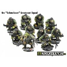 Kromlech Orc Schmeisser Greatcoats Squad Brand New KRM070