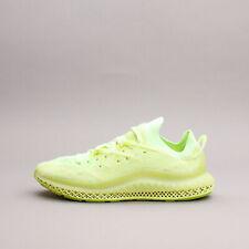 Adidas Originales 4D Fusio Amarillo Running Workout Gym Nuevo Hombres Zapatos Raro H04513