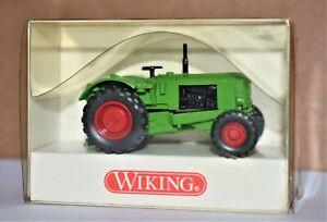 Wiking Green Tractor 1/87 HO Scale Deutz Schlepper #8810124, New in Box