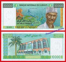 DJIBOUTI 10000 Francs francos 1999 Pick 41 SC / UNC