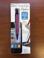MonteVerde One Touch Ballpoint Pen & Stylus - Pink