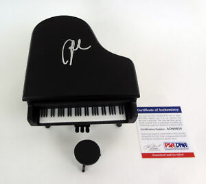 Billy Joel The Piano Man Signed Autograph Miniature Piano PSA/DNA COA