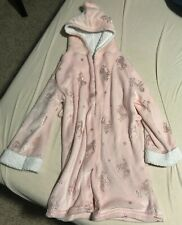 KensieGirl Pink Unicorn Robe for Girls Age 10-12
