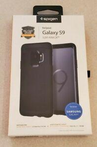 Spigen Slim Armor Samsung Galaxy S9  Air Cushion Technology & Kickstand Black
