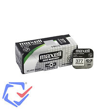 Maxell SR626SW 377 Ag4 Watch Battery Silver Oxide