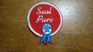 SEAL PURE GRADE A    1960'S   PATCH   BX  11#38