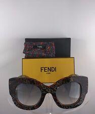 Brand New Authentic Fendi FF 0106/S Sunglasses SYLVY Frame GFDLF