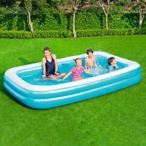 Bestway Family Inflatable Paddling Pool Garden Swimming 10Ft Summer Water Play