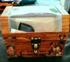 TREASURE CHEST Disney Pirates Of The Caribbean Strong Box WITH PIRATE GEAR