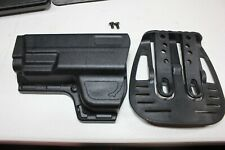 Uncle Mikes Reflex Holster Black Size 9 Left Handed
