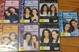 GILMORE GIRLS Seasons 1-7 Complete Series  DVD Region 4 | 42 Discs | Free Post !