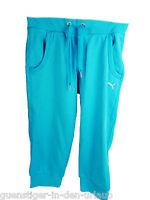 PUMA Damen Caprihose Capri Hose Sporthose Freizeithose blau 36 S NEU