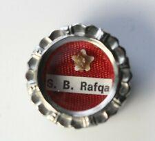 Antique S.B. Rafqa Catholic First Class Relic Reliquary Wax Seal Pendant