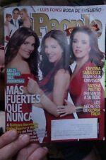 People Espanol Magazine Noviembre 2014 Mas Fuertes Que Nunca Satch Pretto