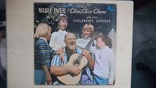 Disneyland Records BURL IVES CHIM CHIM CHEREE & Other CHILDREN'S CHOICES LP 1964