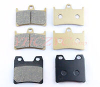 Front & Rear Brake Pads For YAMAHA XJR1300 XJR 1300 2001-2009 2002 2003 2004