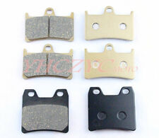 Front Rear Motorcycle Brake Pads Set for YAMAHA XJR1300 XJR 1300 2001-2009