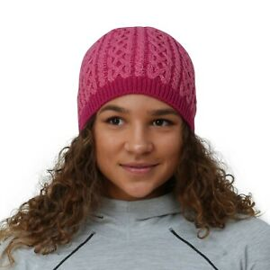 TrailHeads Cable Knit Women's Winter Beanie light rose / raspberry