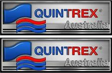 QUINTREX - DECALS - 410mm x 130mm X 2 - BOAT DECALS