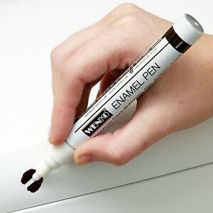 White Enamel Pen Paint DIY Touch Up Chip Repair Bath Sink Shower Fridge Cooker